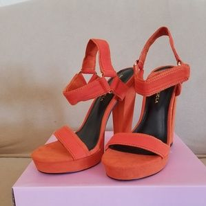High heels Sandals brand NEW in the box